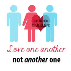 Love one another not another one